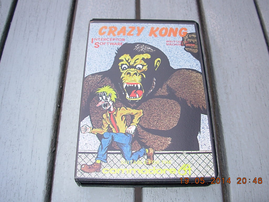 crazy kong interceptor software