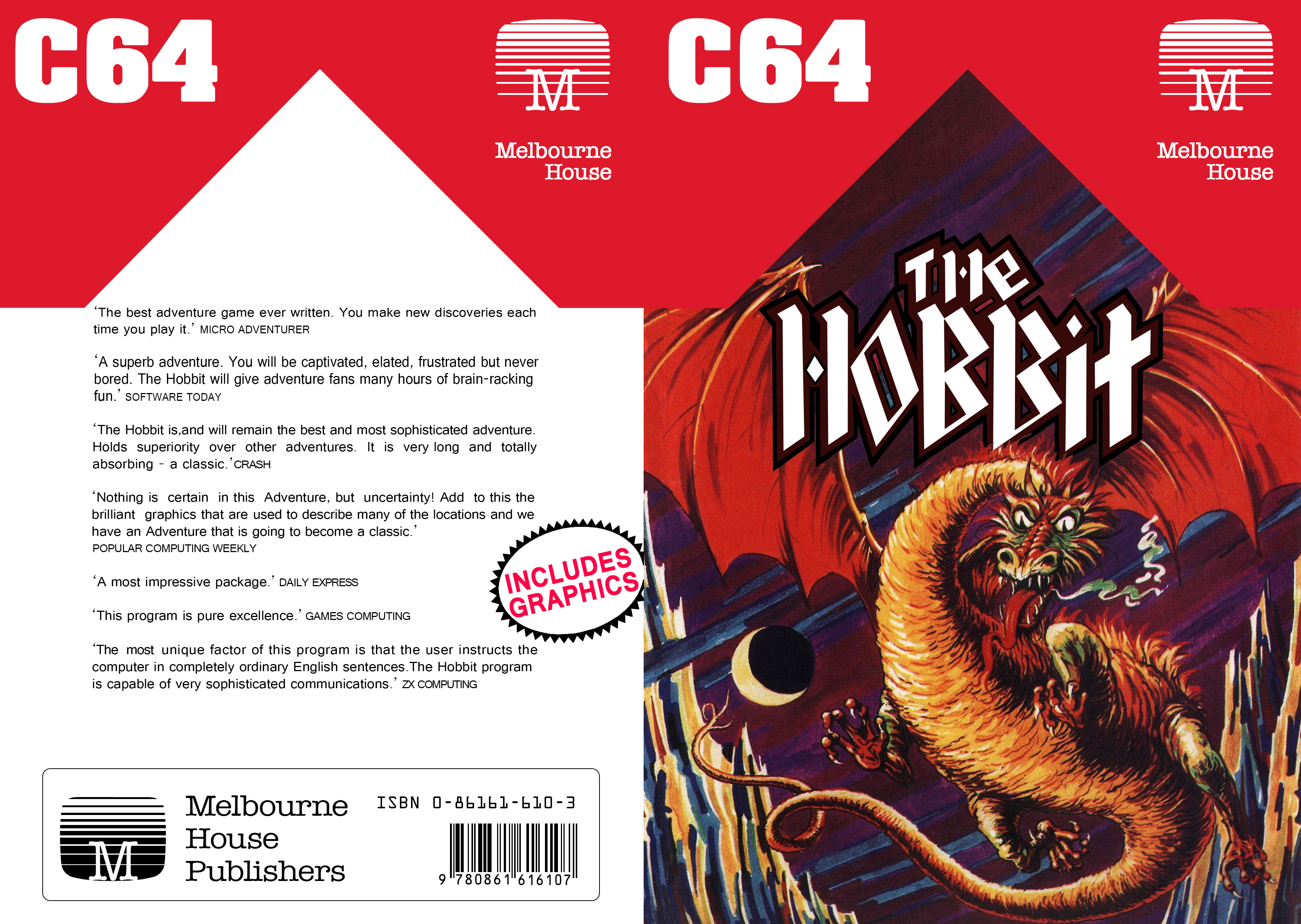 The Hobbit Disk - Melbourne House