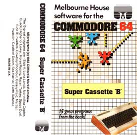COMMODORE 64 SUPER CASSETTE B