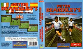 PETER BEARDSLEY INTERNATIONAL FOOTBALL