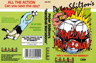 peter shilton's internationnal maradona!