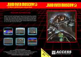 raid over moscow disquette