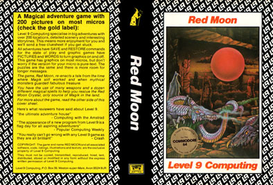 Red Moon (Level 9 Computing)
