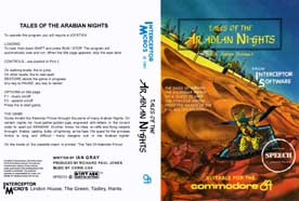 TALES OF ARABIAN NIGHT